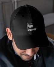 Photographer Name Embroidered Hat garment-embroidery-hat-lifestyle-02