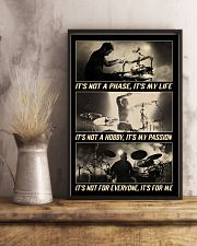 Drummer - It's Not A Phase It's My Life 11x17 Poster lifestyle-poster-3