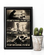 Drummer - It's Not A Phase It's My Life 11x17 Poster lifestyle-poster-8