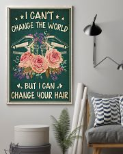 Hairdresser I Can Change Your Hair 11x17 Poster lifestyle-poster-1