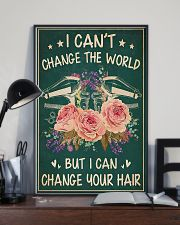 Hairdresser I Can Change Your Hair 11x17 Poster lifestyle-poster-2