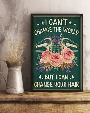 Hairdresser I Can Change Your Hair 11x17 Poster lifestyle-poster-3