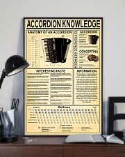 Accordionist Accordion Knowledge 11x17 Poster lifestyle-poster-2