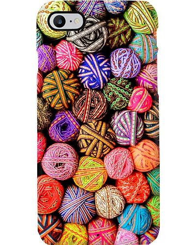 Crochet and Knitting Colorful Yarn Balls