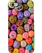 Crochet and Knitting Colorful Yarn Balls Phone Case i-phone-7-case