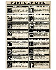 Social Worker Habits Of Mind 11x17 Poster front