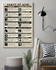 Social Worker Habits Of Mind 11x17 Poster lifestyle-poster-1