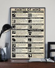 Social Worker Habits Of Mind 11x17 Poster lifestyle-poster-2