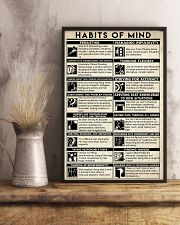 Social Worker Habits Of Mind 11x17 Poster lifestyle-poster-3