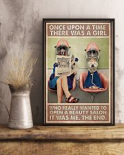 Hairdresser Once Upon A Time There Was A Girl 11x17 Poster lifestyle-poster-3