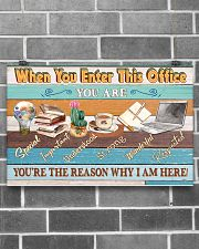 Social Worker You're The Reason 17x11 Poster poster-landscape-17x11-lifestyle-18