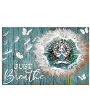 Yoga - Just Breathe 17x11 Poster front