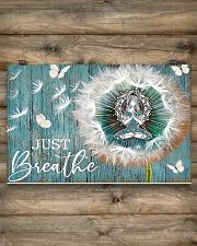 Yoga - Just Breathe 17x11 Poster poster-landscape-17x11-lifestyle-14