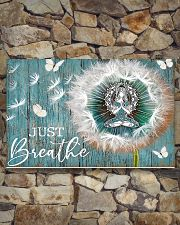 Yoga - Just Breathe 17x11 Poster poster-landscape-17x11-lifestyle-16