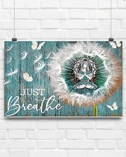Yoga - Just Breathe 17x11 Poster poster-landscape-17x11-lifestyle-17