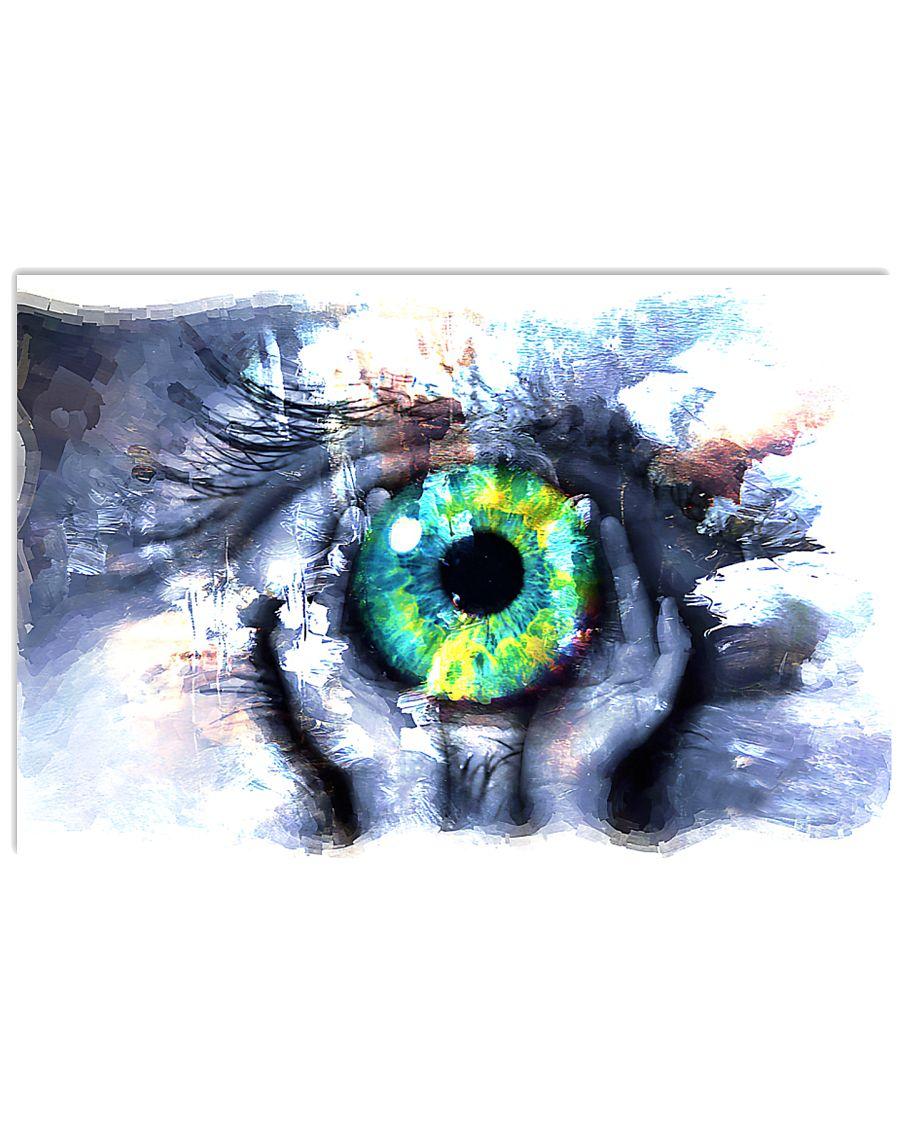 Eyeball Painting Optometrist 17x11 Poster