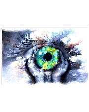 Eyeball Painting Optometrist 17x11 Poster front