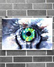 Eyeball Painting Optometrist 17x11 Poster poster-landscape-17x11-lifestyle-18