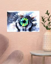 Eyeball Painting Optometrist 17x11 Poster poster-landscape-17x11-lifestyle-22