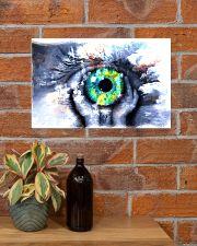 Eyeball Painting Optometrist 17x11 Poster poster-landscape-17x11-lifestyle-23