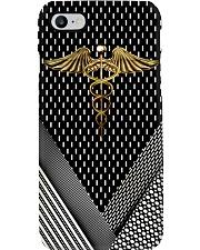 Physician Assistant Gold Caduceus Phone Case i-phone-7-case