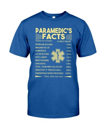 Paramedic's Facts