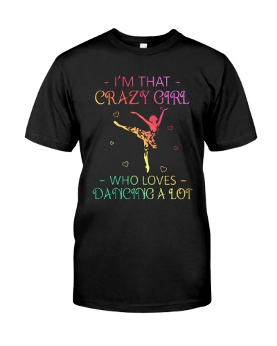 Ballet - Crazy Girl Who Loves Dancing A Lot