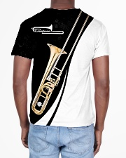 Trombonist Trombone Black And White All-over T-Shirt aos-all-over-T-shirt-lifestyle-back-02