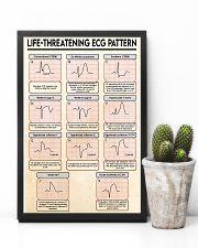 Paramedic Life -Threatening ECG Pattern 11x17 Poster lifestyle-poster-8