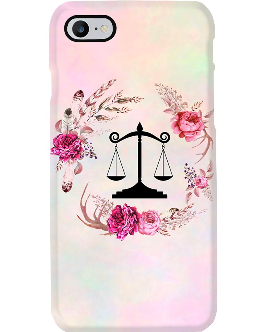 Paralegal Flower  Phone Case