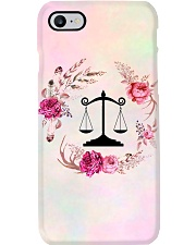 Paralegal Flower  Phone Case i-phone-7-case