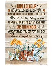 Nurses Don't Give Up Just Remember 11x17 Poster front