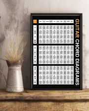Guitar Chord Diagrams 11x17 Poster lifestyle-poster-3