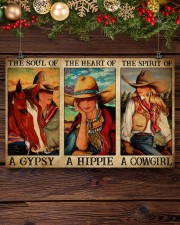 Horse Girl The Soul Of A Gypsy  17x11 Poster aos-poster-landscape-17x11-lifestyle-27
