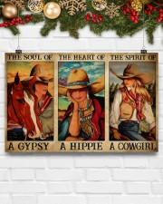 Horse Girl The Soul Of A Gypsy  17x11 Poster aos-poster-landscape-17x11-lifestyle-28