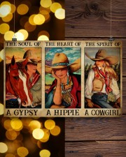 Horse Girl The Soul Of A Gypsy  17x11 Poster aos-poster-landscape-17x11-lifestyle-29