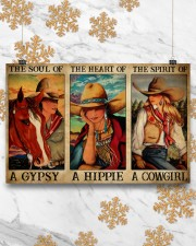 Horse Girl The Soul Of A Gypsy  17x11 Poster aos-poster-landscape-17x11-lifestyle-30
