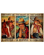 Horse Girl The Soul Of A Gypsy  17x11 Poster front