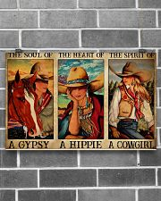 Horse Girl The Soul Of A Gypsy  17x11 Poster poster-landscape-17x11-lifestyle-18