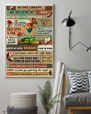 Librarian In This Library We Do Fairy Tales 11x17 Poster lifestyle-poster-1