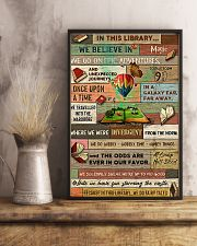 Librarian In This Library We Do Fairy Tales 11x17 Poster lifestyle-poster-3