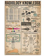 Radiology Knowledge 11x17 Poster front