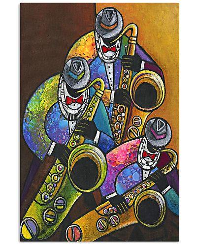 The Saxophone Men Art