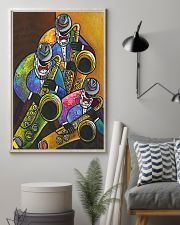The Saxophone Men Art 11x17 Poster lifestyle-poster-1