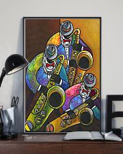 The Saxophone Men Art 11x17 Poster lifestyle-poster-2