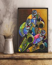 The Saxophone Men Art 11x17 Poster lifestyle-poster-3
