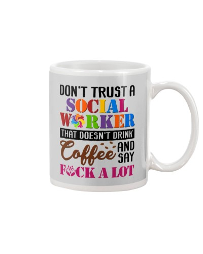 Social Worker Don't Trust Funny