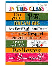 Inspiration For Student Teacher  11x17 Poster front