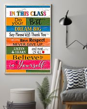 Inspiration For Student Teacher  11x17 Poster lifestyle-poster-1