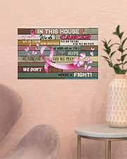 Breast Cancer In This House We Do  17x11 Poster poster-landscape-17x11-lifestyle-22